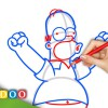 Video: Homer Simpson from The Simpsons
