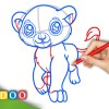 Video: Chiby Baby Lion from Anime Animals