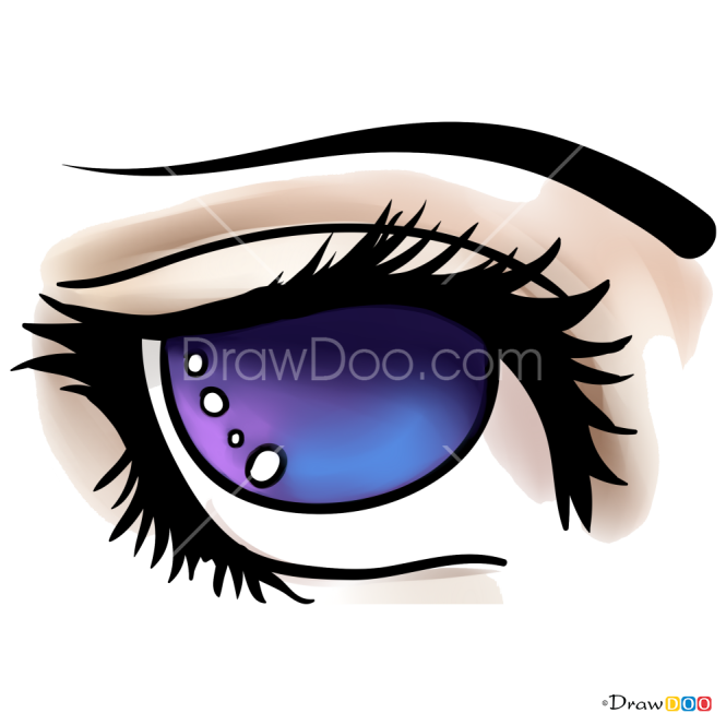 How to Draw Moon Eye