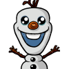 How to Draw Olaf, Kawaii style