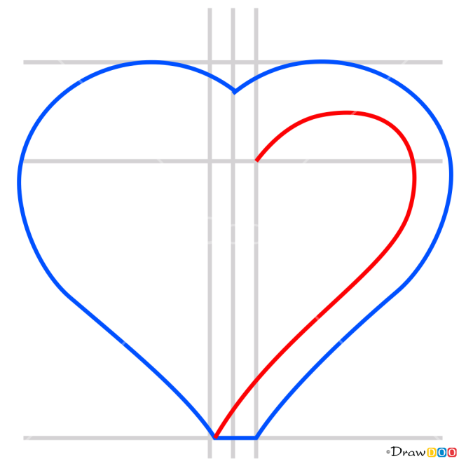 How to Draw Impossible Heart, 3D Objects