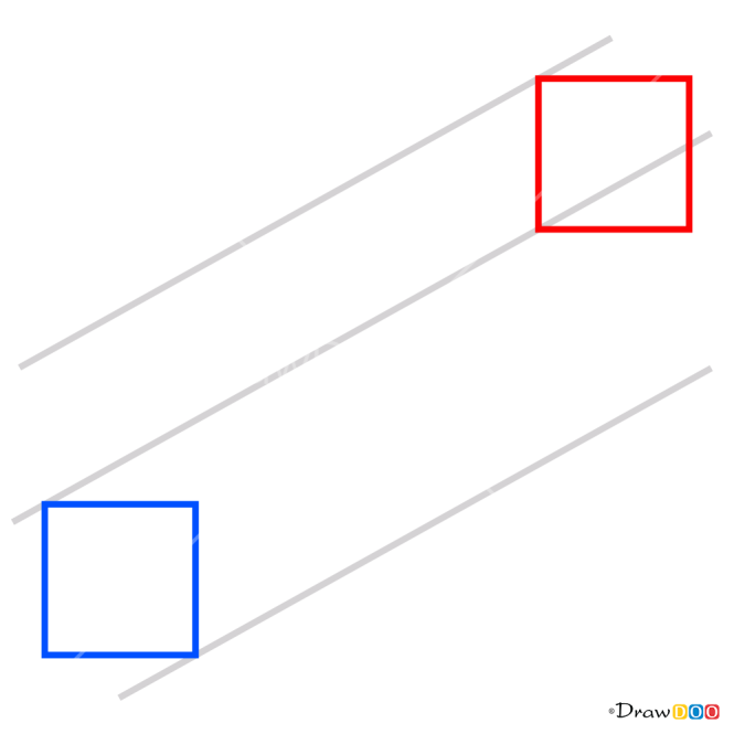 How to Draw Easy Optical Illusion, 3D Objects