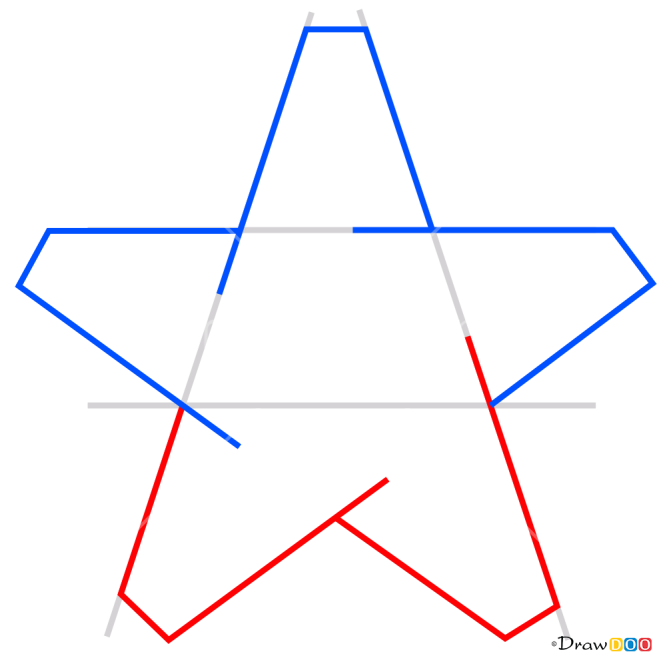 How to Draw Impossible Star, 3D Objects