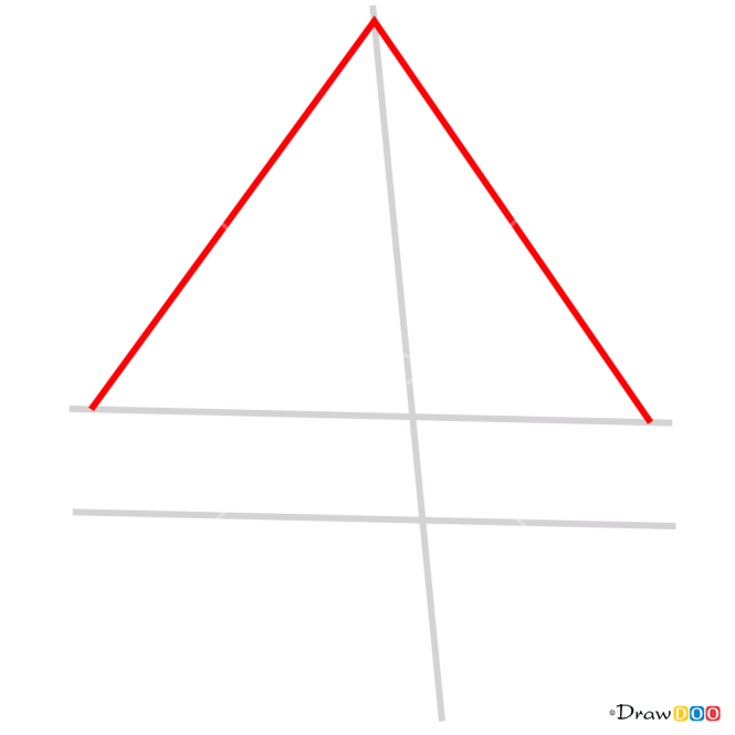 How to Draw 3D Pyramid, 3D Objects