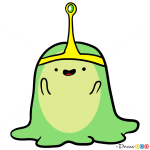 How to Draw Slime Princess, Adventure Time