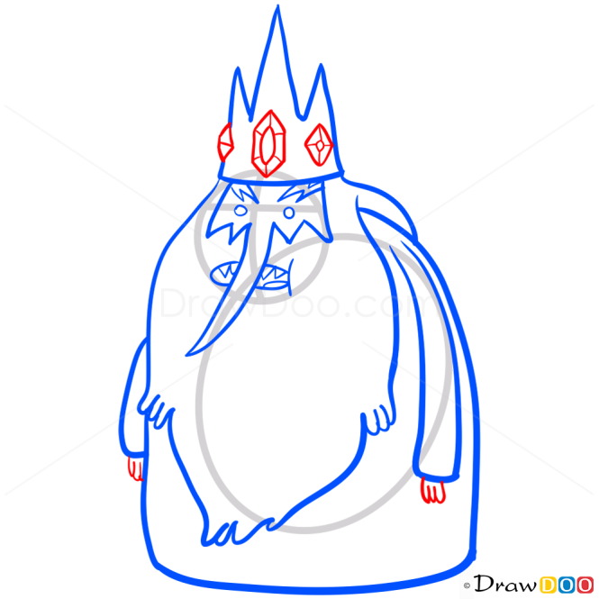 How to Draw Ice King, Adventure Time