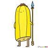How to Draw Bannana Guard, Adventure Time