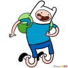 How to Draw Finn, Adventure Time
