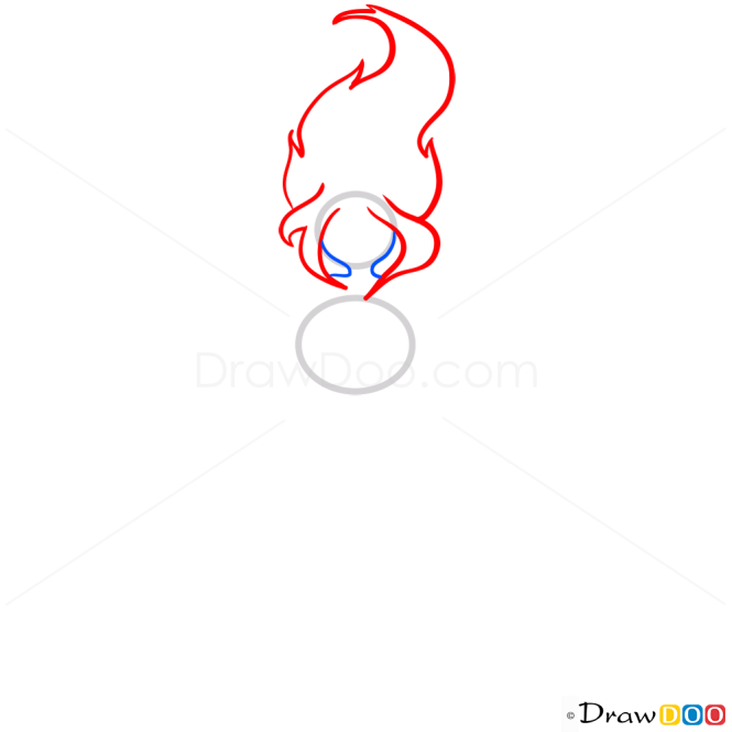 How to Draw Flame Princess, Adventure Time
