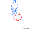 how to draw flame princess adventure time