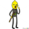 How to Draw Lemongrab, Adventure Time
