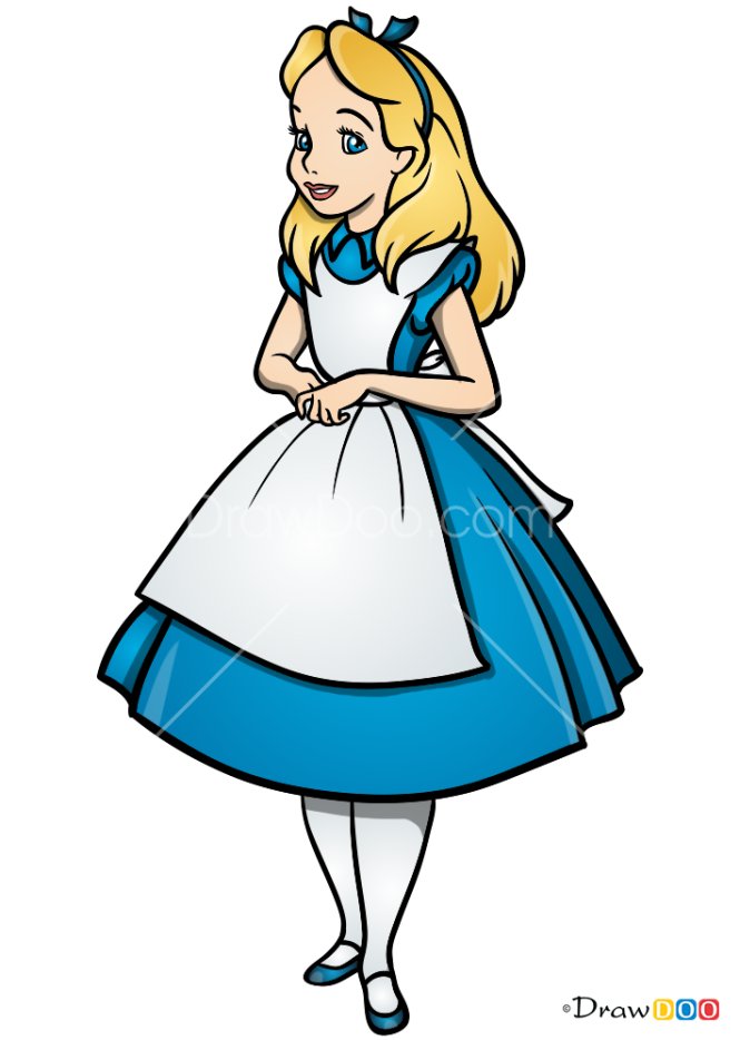 How to Draw Alice, Alice in Wonderland