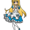 How to Draw Anime Alice, Alice in Wonderland