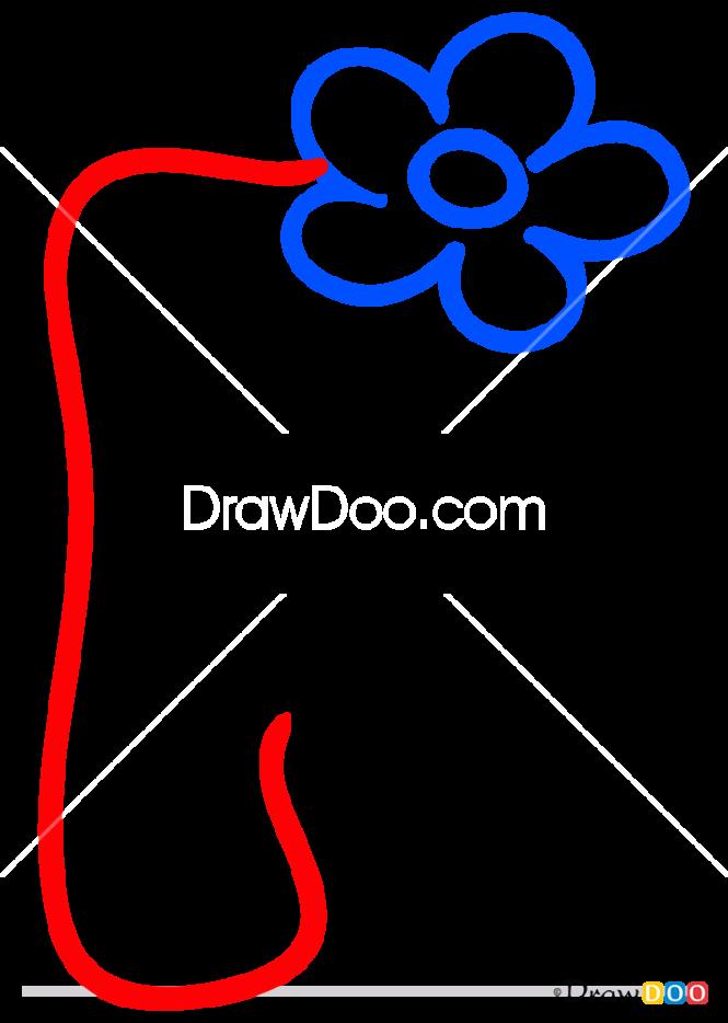 How to Draw F, Alphabet for Kids