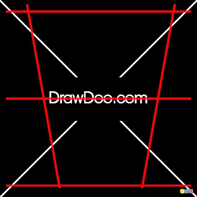 How to Draw W, Alphabet for Kids
