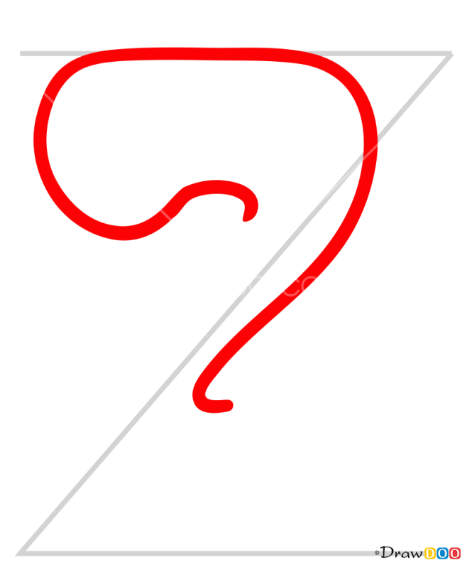How to Draw Z, Alphabet for Kids
