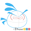 How to Draw Orange Bird, Angry Birds
