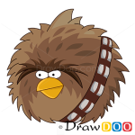 How to Draw Chewbacca, Angry Birds