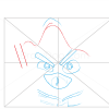 How to Draw Obi-Wan Kenobi Bird, Angry Birds