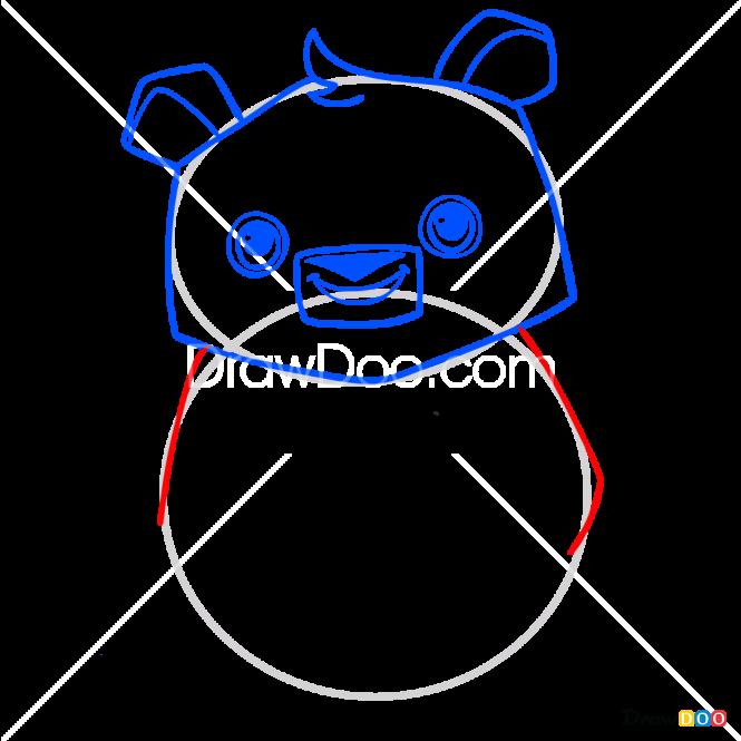How to Draw Panda, Animal Jam