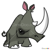 How to Draw Rhino, Animal Jam