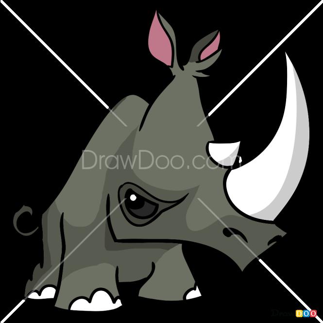 How to Draw Rhino, Animal Jam