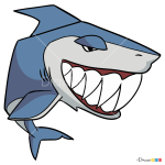 How to Draw Shark, Animal Jam