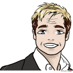 How to Draw Brad Pitt, Celebrities Anime