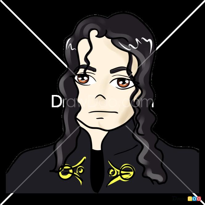 How to Draw Michael Jackson, Celebrities Anime