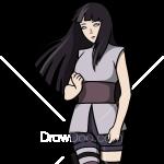How to Draw Hinata Hyuga, Anime Girls