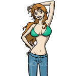 How to Draw Nami, Anime Girls