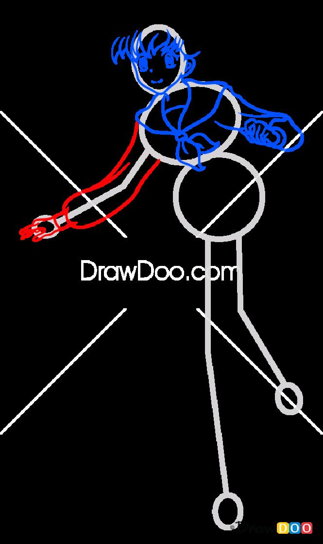 How to Draw Kagome Higurashi, Anime Girls