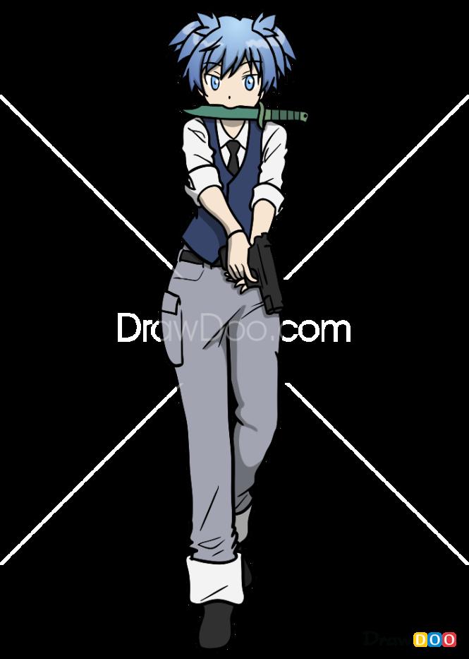 How to Draw Nagisa Shiota, Anime Girls