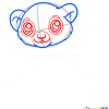 How to Draw Baby Lion, Cute Anime Animals