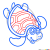 How to Draw Nice Turtle, Cute Anime Animals