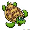 How to Draw Nice Turtle, Cute Anime Animals