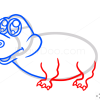 How to Draw Cute Crocodile, Cute Anime Animals