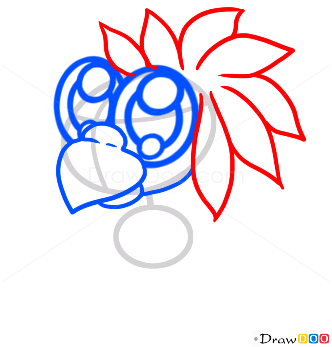 How to Draw Cute Blue Parrot, Cute Anime Animals