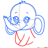How to Draw Baby Elephant, Cute Anime Animals