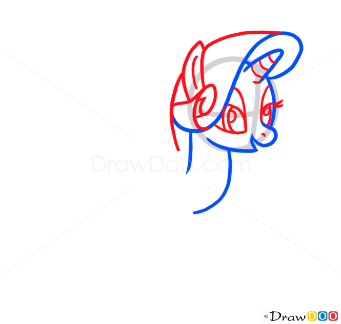 How to Draw Cute Pony, Cute Anime Animals
