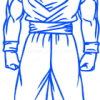How to Draw Goku, Dragon Ball, Anime Manga