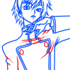 How to Draw Lelouch Lamperouge, Code Geass, Anime Manga