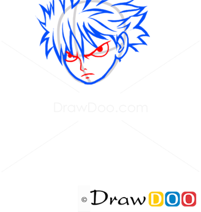 How To Draw Natsu Dragneel Fairy Tail Anime Manga
