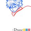 How to Draw Natsu Dragneel, Fairy Tail, Anime Manga
