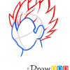 How to Draw Vegeta, Dragon Ball, Anime Manga