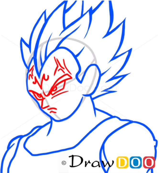 How to Draw Vegeta, Dragon Ball, Anime Manga