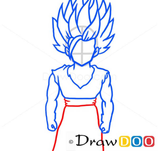 How to Draw Gohan, Dragon Ball, Anime Manga