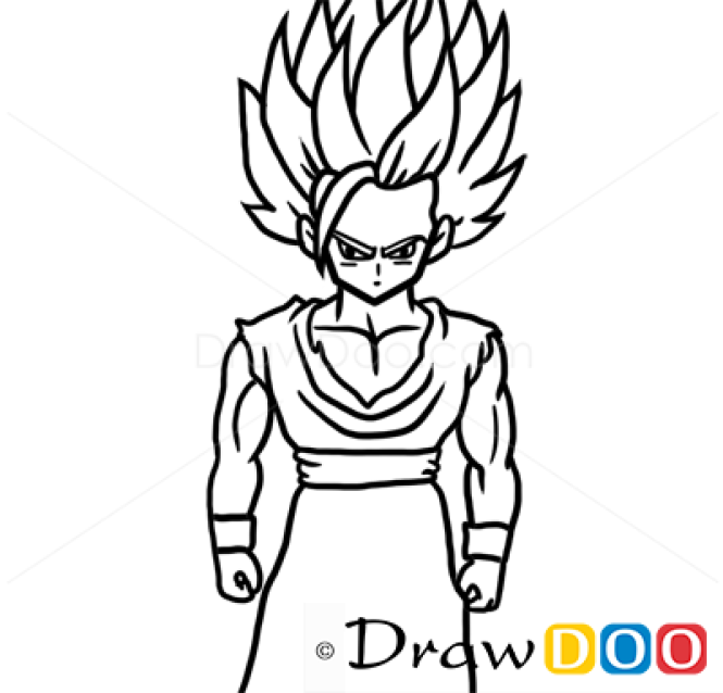 How To Draw Gohan Dragon Ball Anime Manga