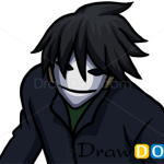 How to Draw Hei, Darker than Black, Anime Manga
