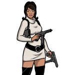 How to Draw Lana Kane, Archer